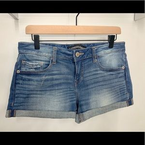 NWOT Express Denim Shorts